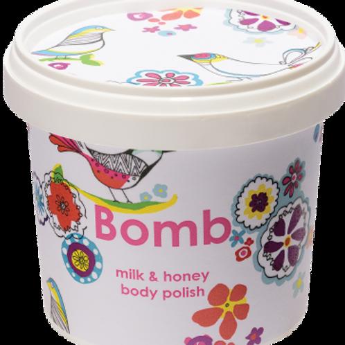 MILK & HONEY BODY POLISH BOMB COSMETICS