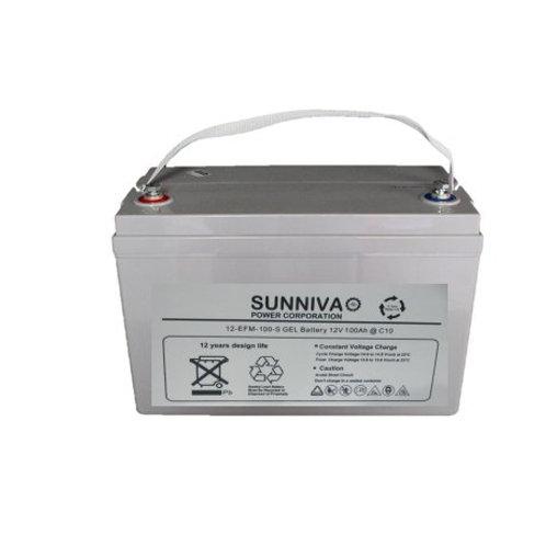 Sunniva 100AH 12V Gel Battery