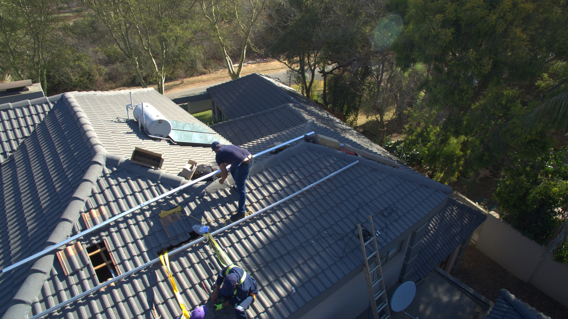 Solar Roof top Installation North West