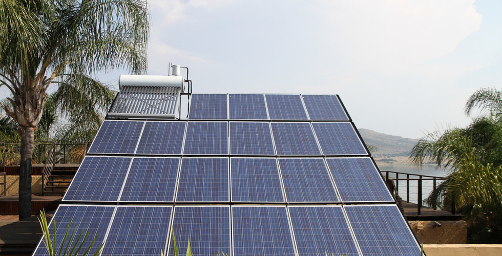 Integrated Solar power and heating system