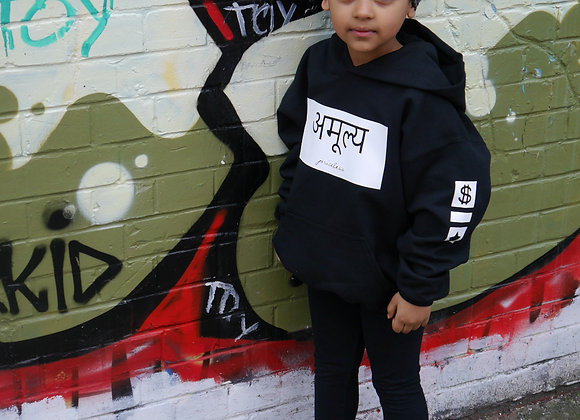 The Kids Original Hindi Hoodie - Design 1