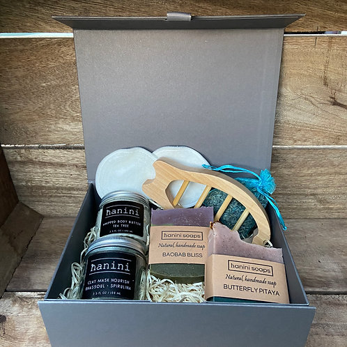 Christmas Skincare Pamper Gift Set 2 - Clay and Superfoods