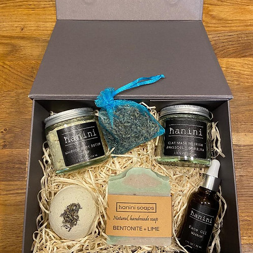 Christmas Skincare Pamper Gift Set - Clay and Superfoods