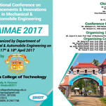 National Conference, AIMAE 2017