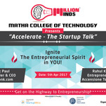 Accelerate - The Startup Talk