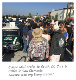 Cars & Coffee at San Clemente