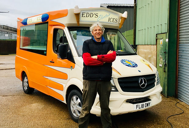 World's First All Electric Ice Cream Van electrified by Edd China (includes an electric ice cream machine conversion kit too!)