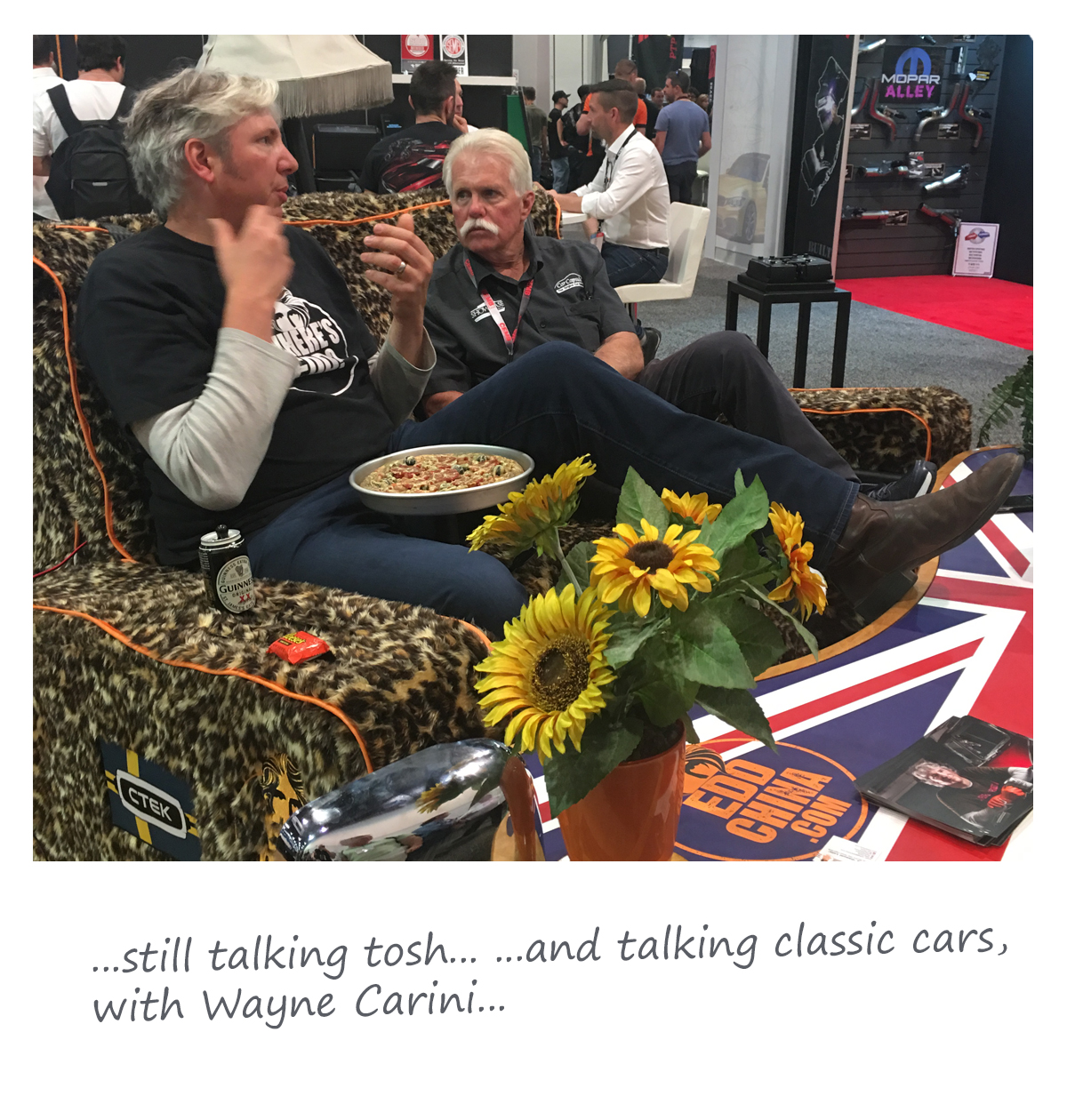 Edd China & Wayne Carini @ SEMA