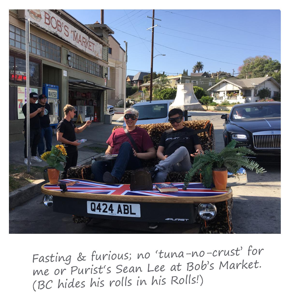 Fast & Furry at Bob's Market LA