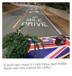 17 Mile Drive on a couch