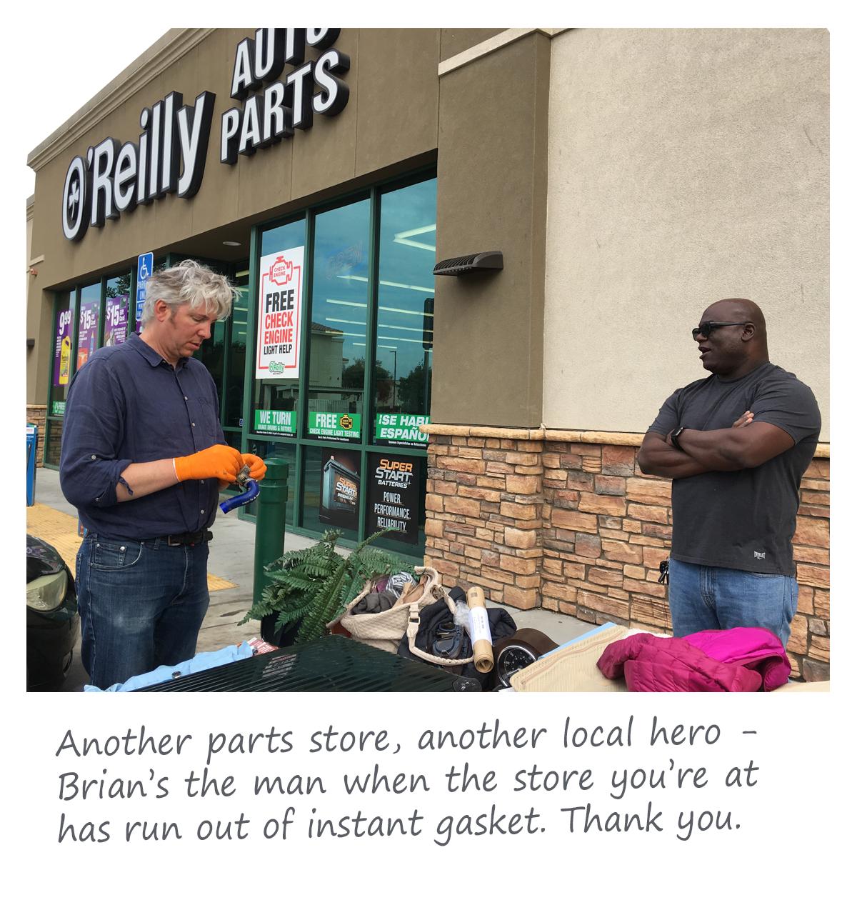 Brian at O'Reillys