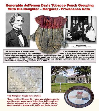 PROOF Jefferson Davis Tobacco Pouch post
