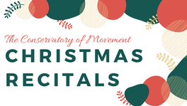 Christmas Recital Classes