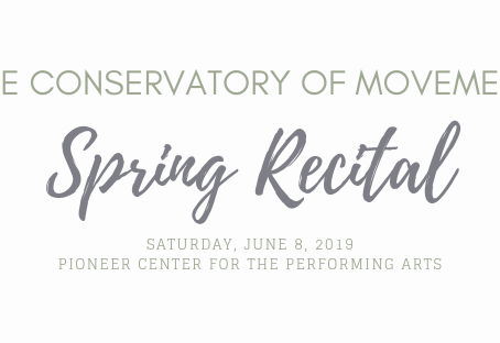 Recital Information 2019