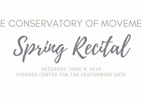 Recital Information 2019