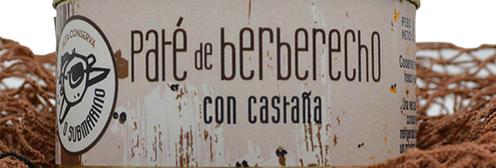 Paté de Berberecho con Castaña