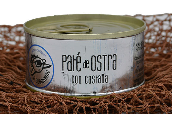 Paté de Ostra con Castaña