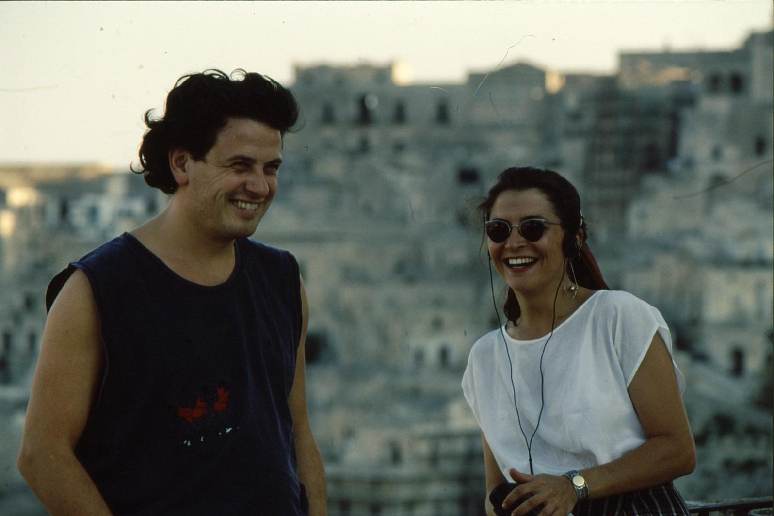 Gezziamoci 1990 Tino TRacanna e Maria Pi