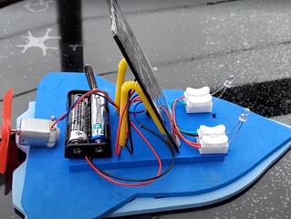 小學課後活動──太陽能混能船