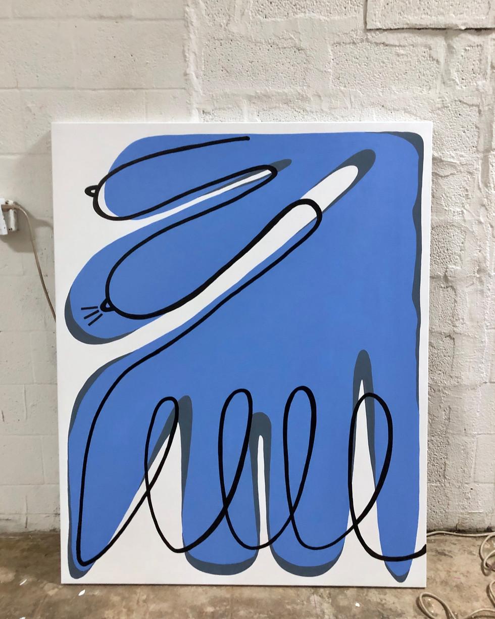 I'll see you soon (2019) - Acrylic on Canvas