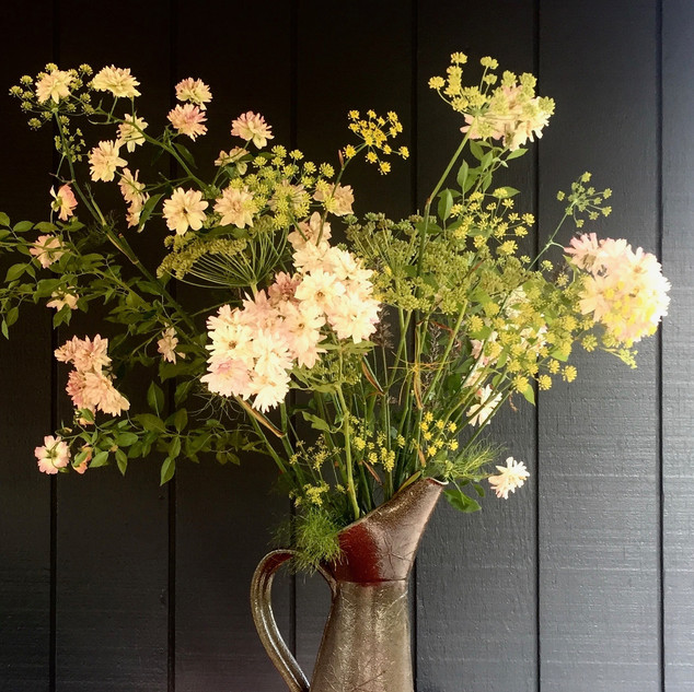 Jug of Roses and Fennel