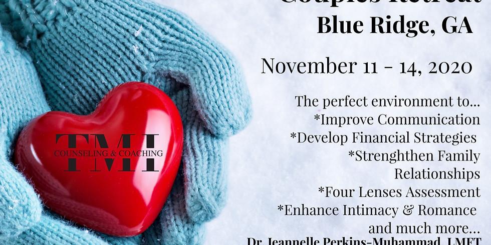 Prepare & Enrich November Couples Enrichment Retreat