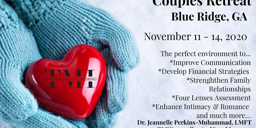 Prepare and Enrich November Couples Enrichment Retreat