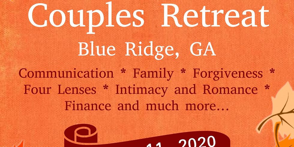Prepare & Enrich October Couples Enrichment Retreat
