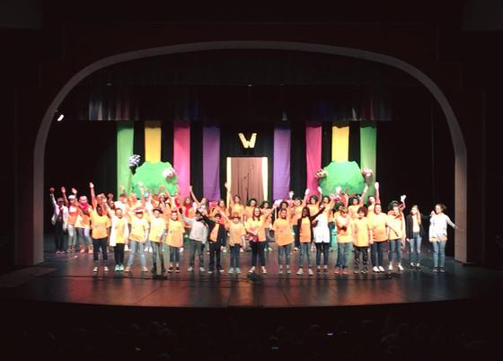Congrats Willy Wonka Cast!