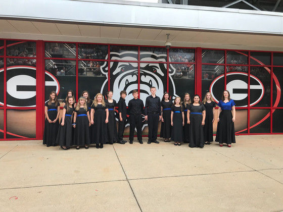 Blue Note sings for UGA