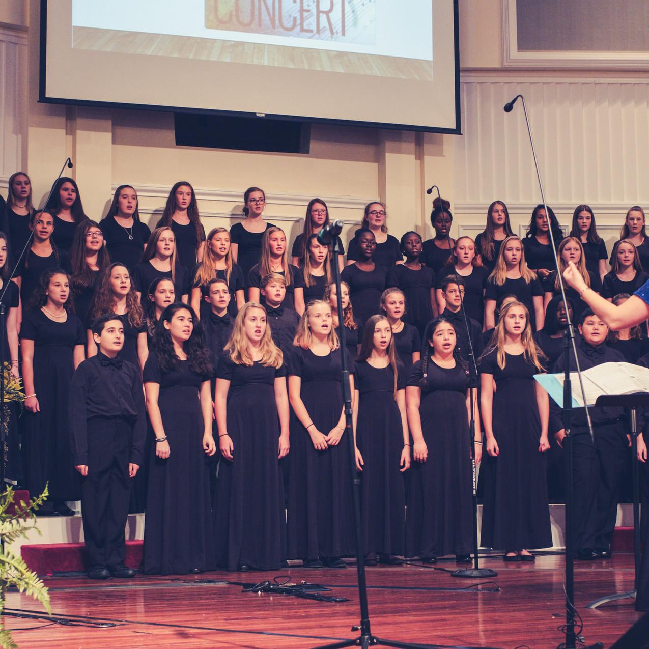 OCMS 8th Grade Chorus