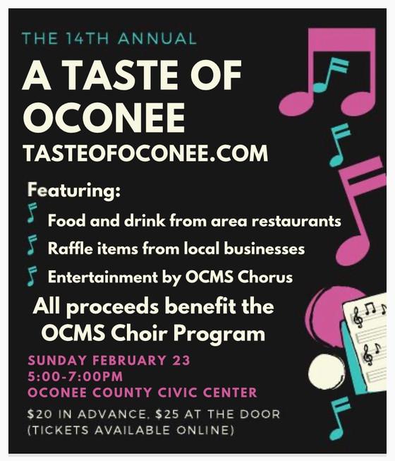 Taste of Oconee