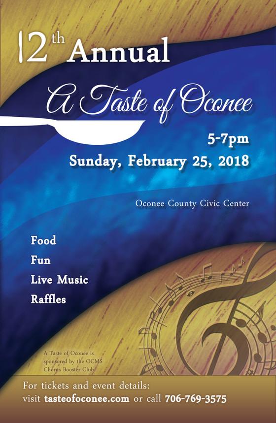 Taste of Oconee Tickets On Sale!