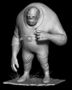 Hunchback Sculpture