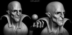 Vampire Sculpture