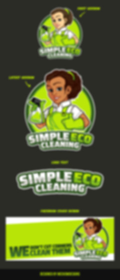 Simple Eco Cleaning Design Sheet - Meekowdesigns