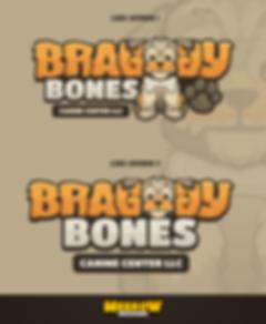Braggy Bones Logo Design