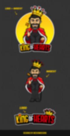 King of Hearts Design Sheet - Meekowdesigns