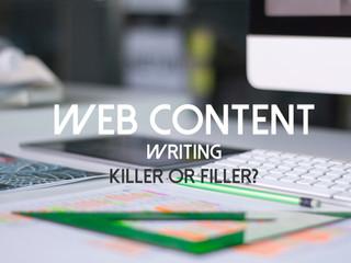 killer or filler web content?