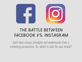 The battle between Facebook vs. Instagram