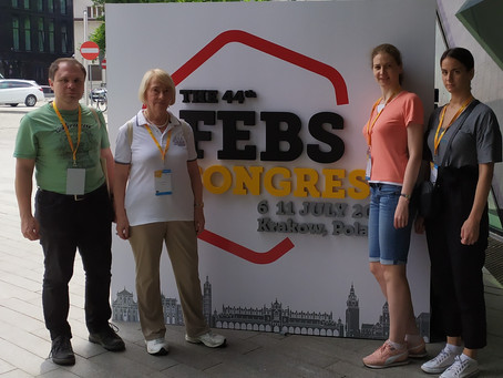 "On July 4-9, 2019, the 44th FEBS Congress ""from molecules to living systems"" was held in Krakow"