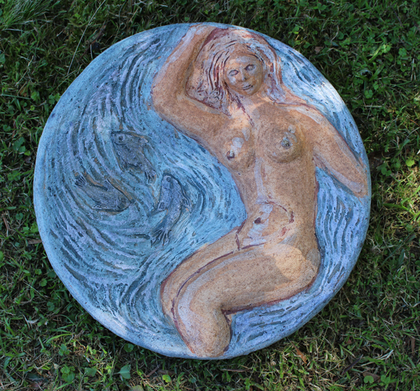 Fishy Bird-Bather Bowl