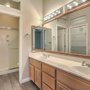 Bath with Double Vanity and Shower 10309 Broom Hill Dr