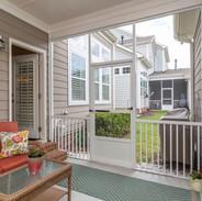 Porch + Small Side Yard