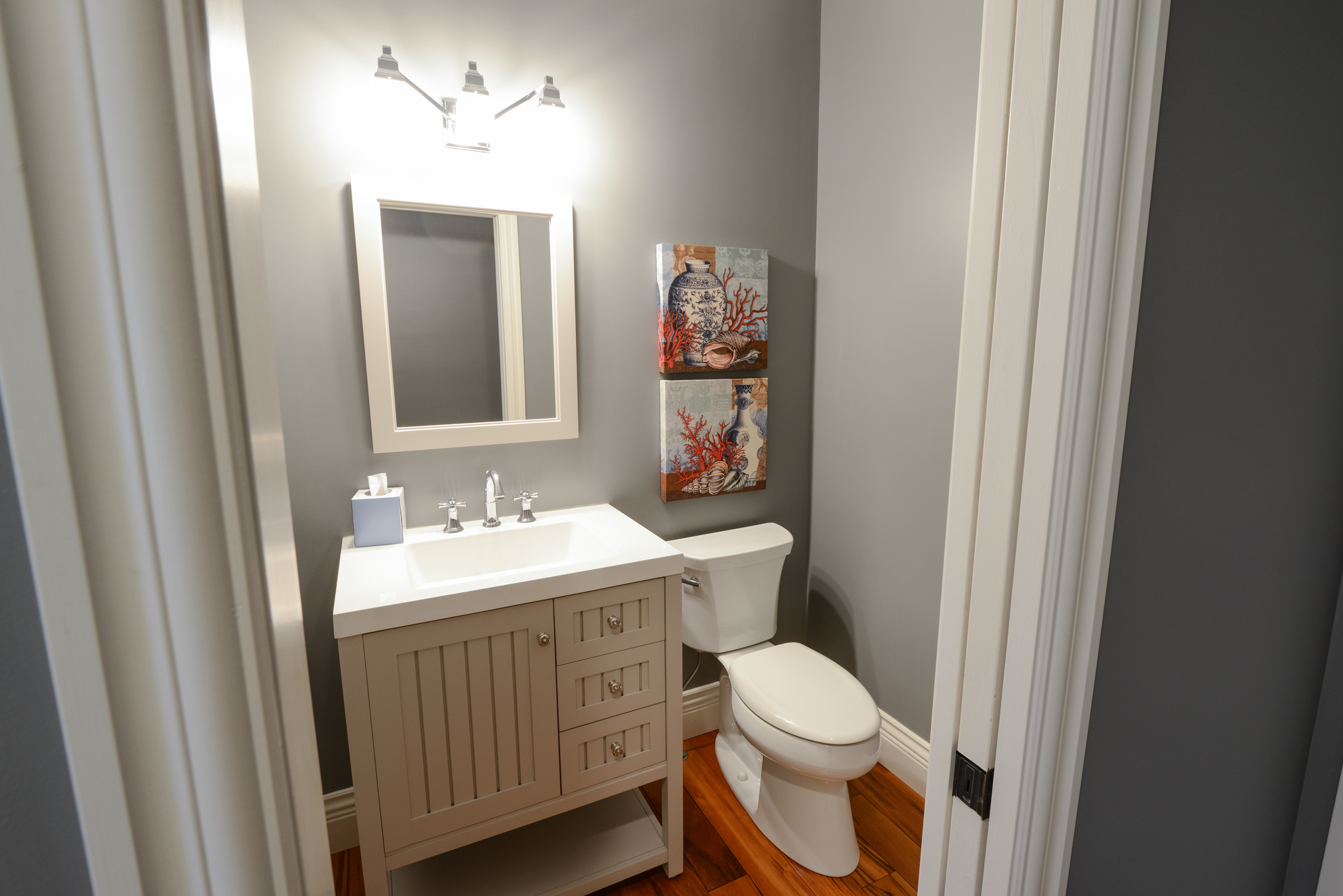 Main Level Half Bath 2