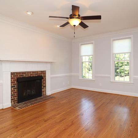 Firelit Living Room