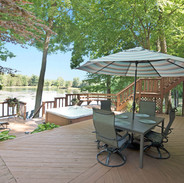 Deck Over Looking Private Lake