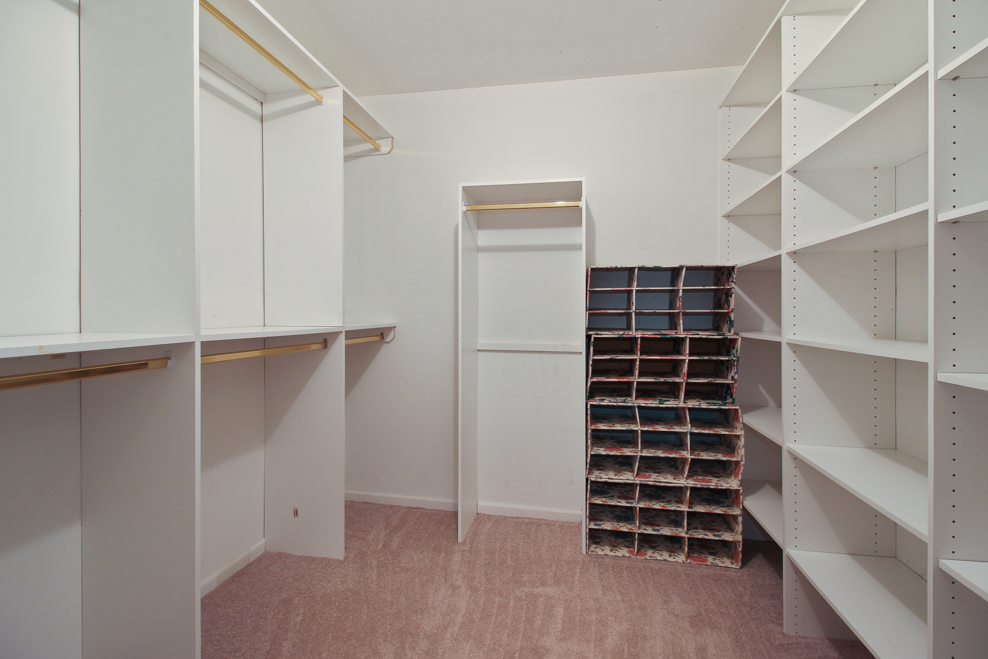 Second Level Dry Goods Storage