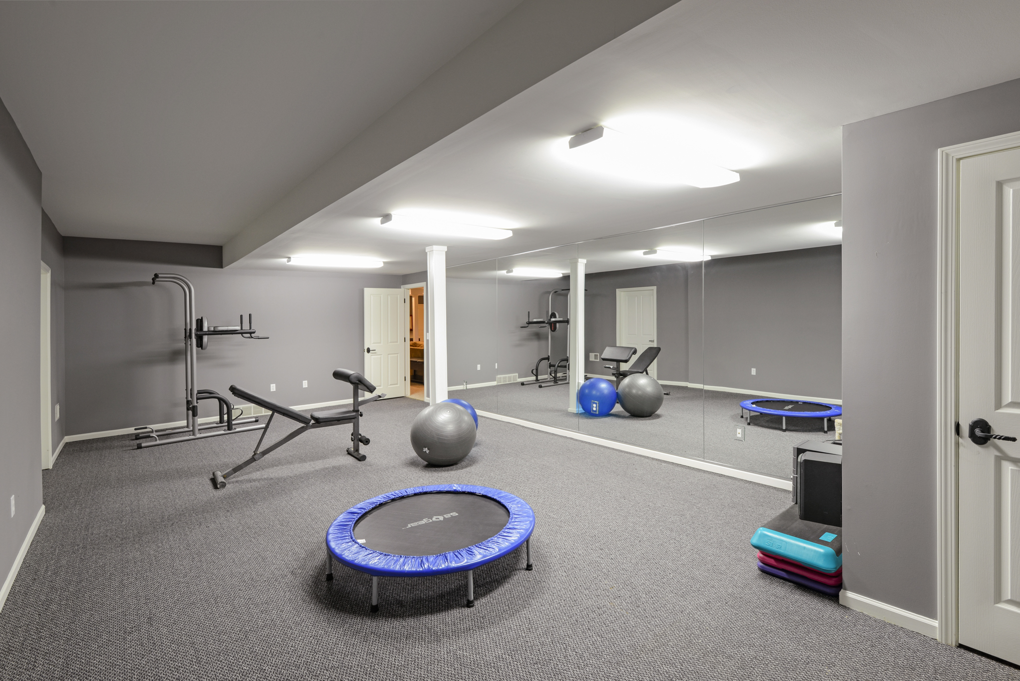 Lower Level Work Out Room
