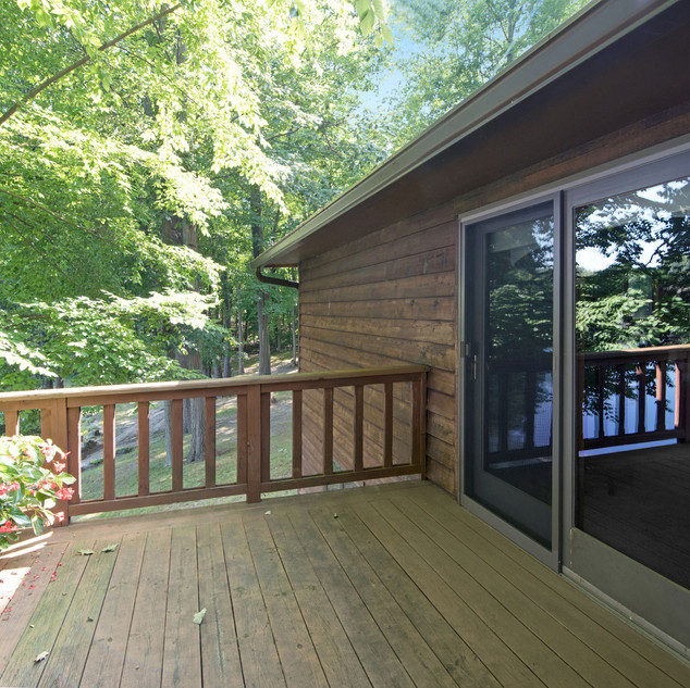 Deck off Master Bedroom